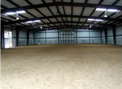 Indoor Arena for Training Horses